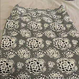 LulaRoe Cassie Pencil Skirt XL